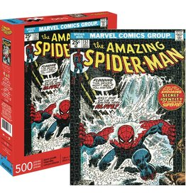 NMR DISTRIBUTION AMERICA MARVEL SPIDER-MAN COVER 500PC PUZZLE