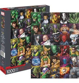 NMR DISTRIBUTION AMERICA MARVEL VILLAINS 1000 PIECE PUZZLE