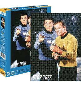 NMR DISTRIBUTION AMERICA STAR TREK SPOCK AND KIRK 500 PIECE PUZZLE