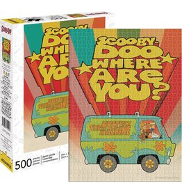 NMR DISTRIBUTION AMERICA SCOOBY DOO 500 PIECE PUZZLE