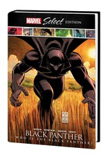 MARVEL COMICS BLACK PANTHER WHO IS BLACK PANTHER MARVEL SELECT HC