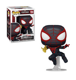 FUNKO POP SPIDER-MAN MILES MORALES CLASSIC SUIT VINYL FIG