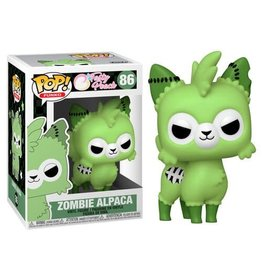 FUNKO POP TASTY PEACH ZOMBIE ALPACA VINYL FIG