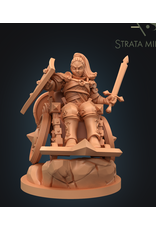 DUNGEONS AND DIVERSITY MINI HUMAN FIGHTER