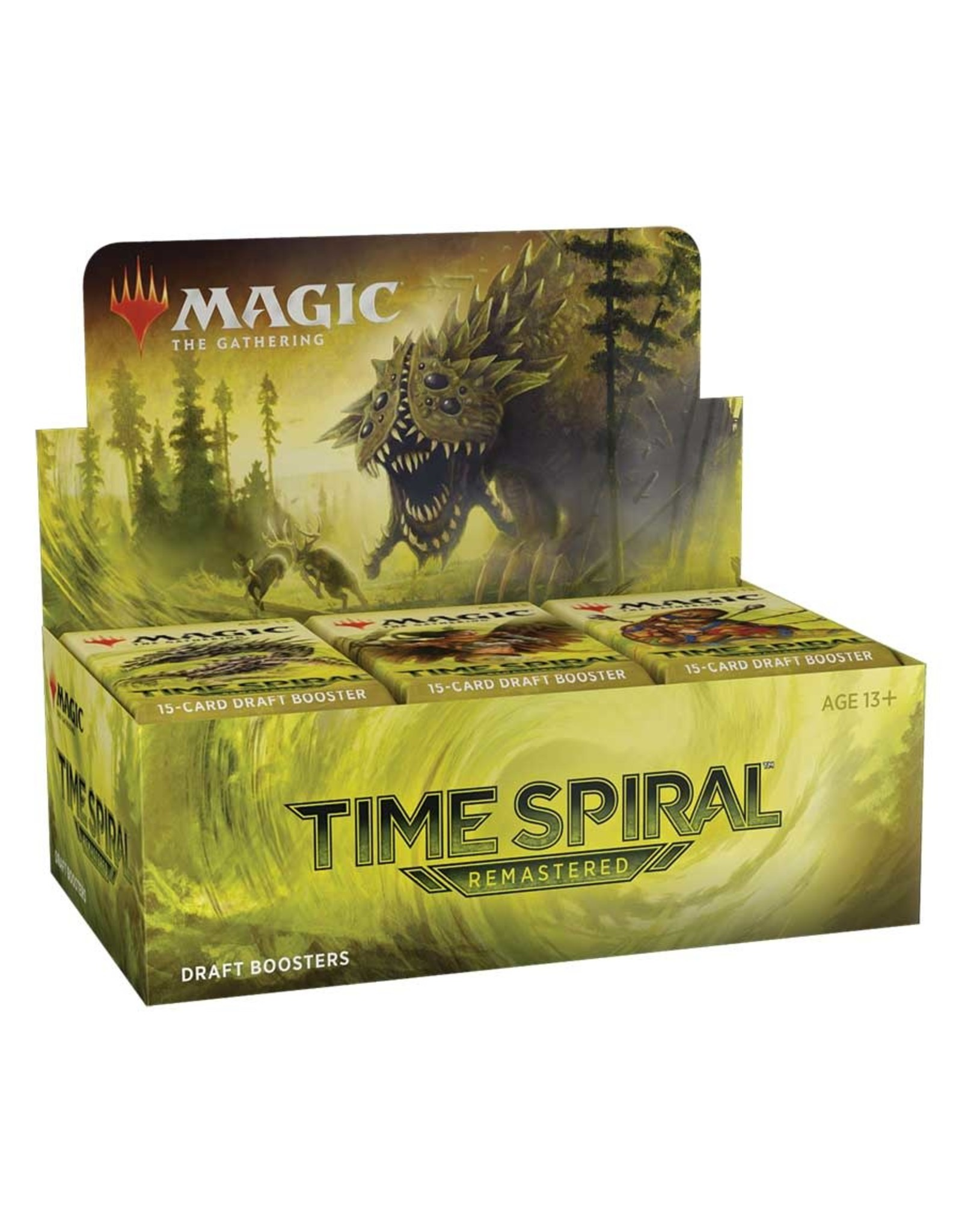 WIZARDS OF THE COAST MAGIC THE GATHERING TIME SPIRAL REMASTERED DRAFT BOOSTER BOX PRE-ORDER