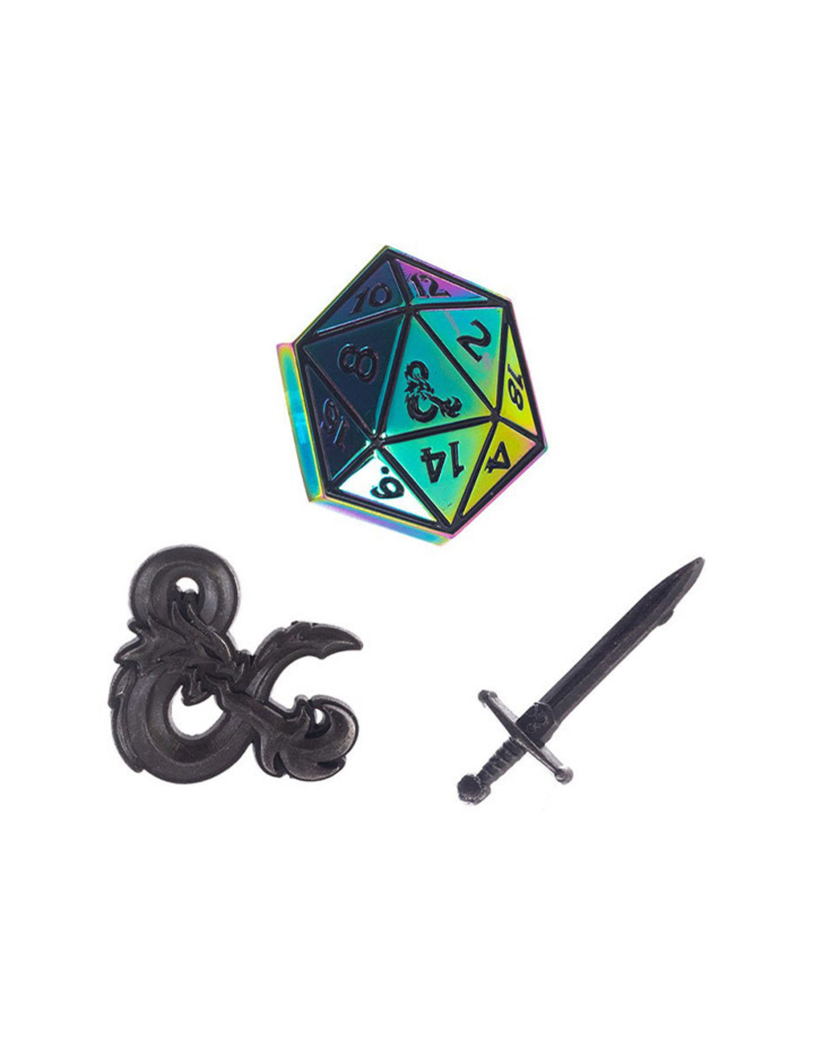 D&D LAPEL PINS SET  OF 3