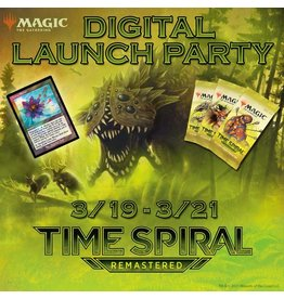 WIZARDS OF THE COAST TIME SPIRAL REMASTERED DIGITAL LAUNCH PARTY
