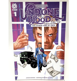 AFTERSHOCK COMICS UNDONE BY BLOOD OTHER SIDE OF EDEN #1 1:15 CHARLIE ADLARD