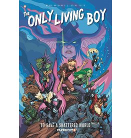 PAPERCUTZ ONLY LIVING BOY GN VOL 05 TO SAVE A SHATTERED WORLD