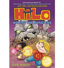RANDOM HOUSE BOOKS FOR YOUNG R HILO GN VOL 04 WAKING THE MONSTERS