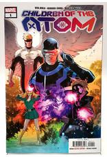 MARVEL COMICS CHILDREN OF ATOM #1 SECRET VAR