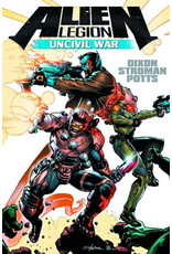 TITAN COMICS ALIEN LEGION UNCIVIL WAR HC