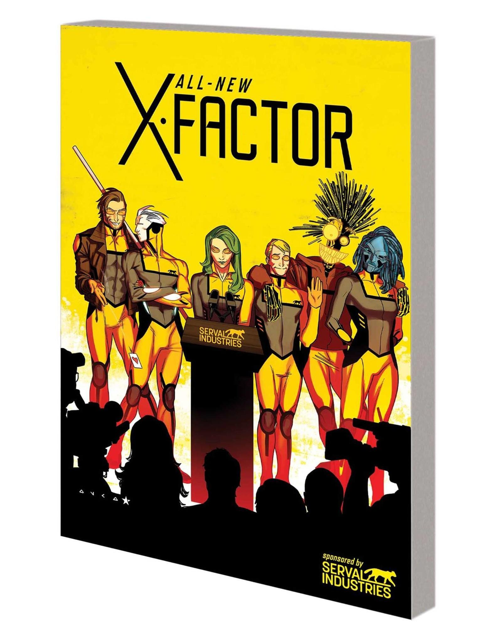 MARVEL COMICS ALL NEW X-FACTOR TP VOL 02 CHANGE OF DECAY