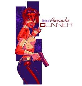 IDEA & DESIGN WORKS LLC ART OF AMANDA CONNER HC