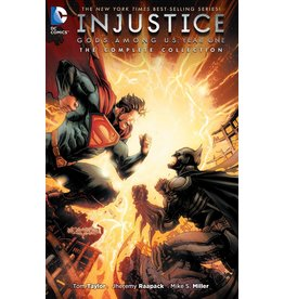 DC COMICS INJUSTICE GODS AMONG US YEAR ONE COMPLETE COLL TP