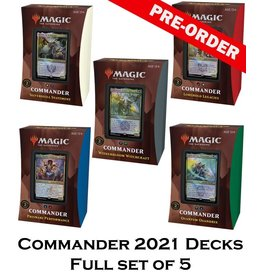 WIZARDS OF THE COAST MTG STRIXHAVEN COMMANDER DECKS FULL SET PRE-ORDER