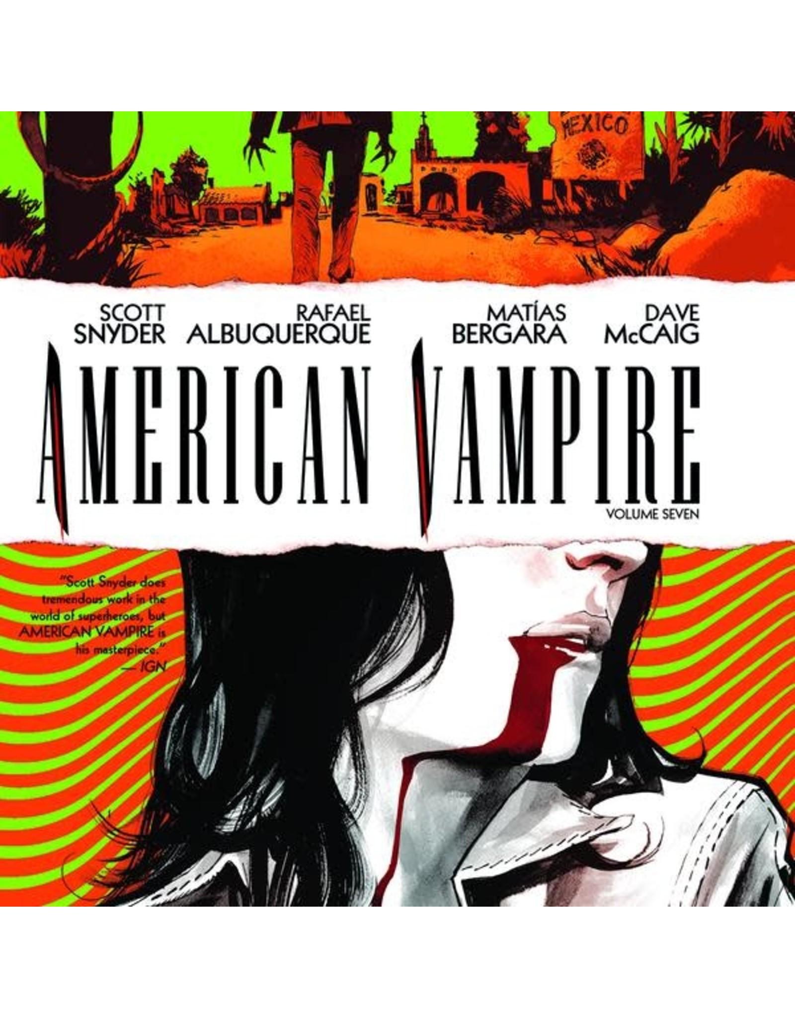 DC COMICS AMERICAN VAMPIRE HC VOL 07