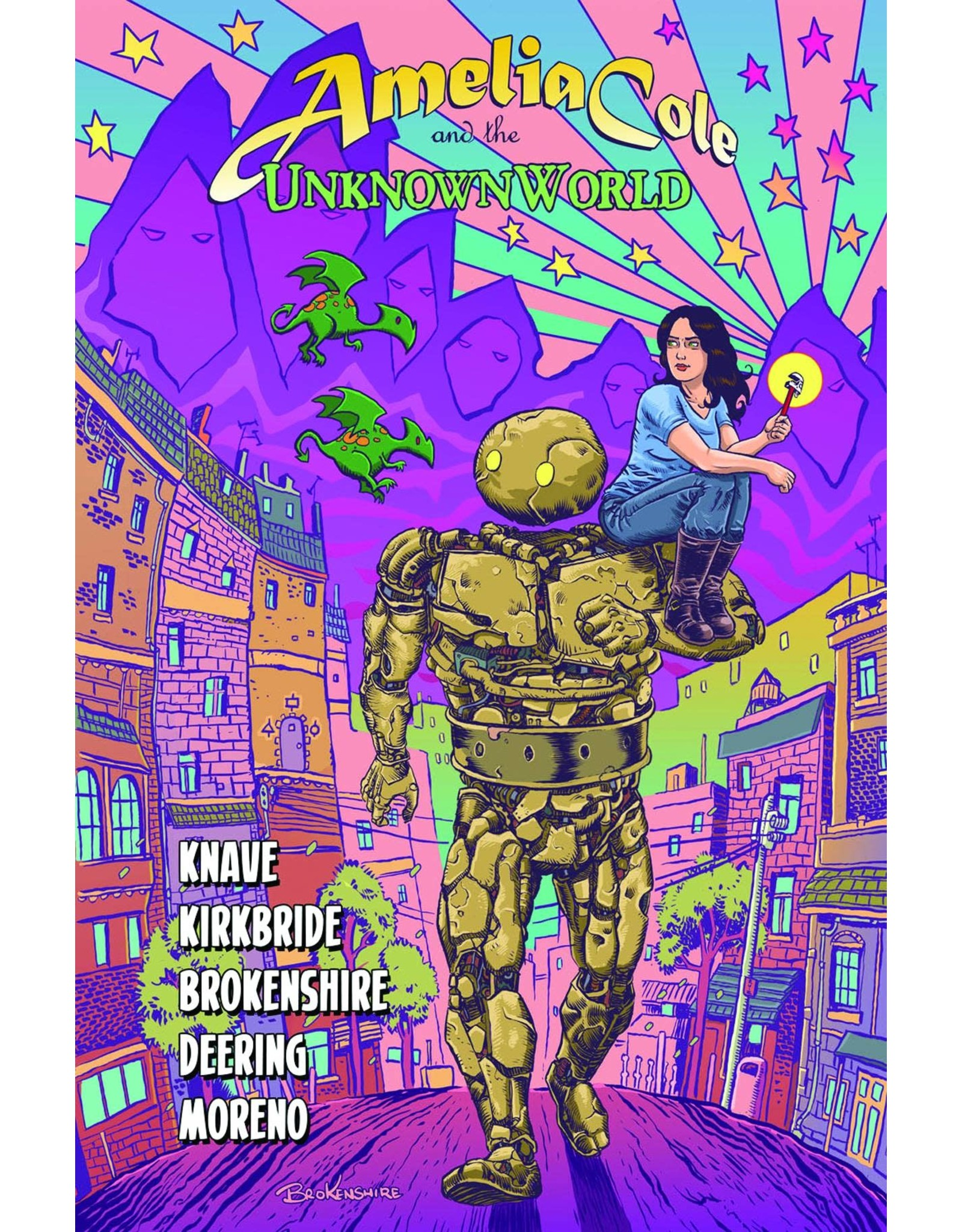IDW PUBLISHING AMELIA COLE AND THE UNKNOWN WORLD GN