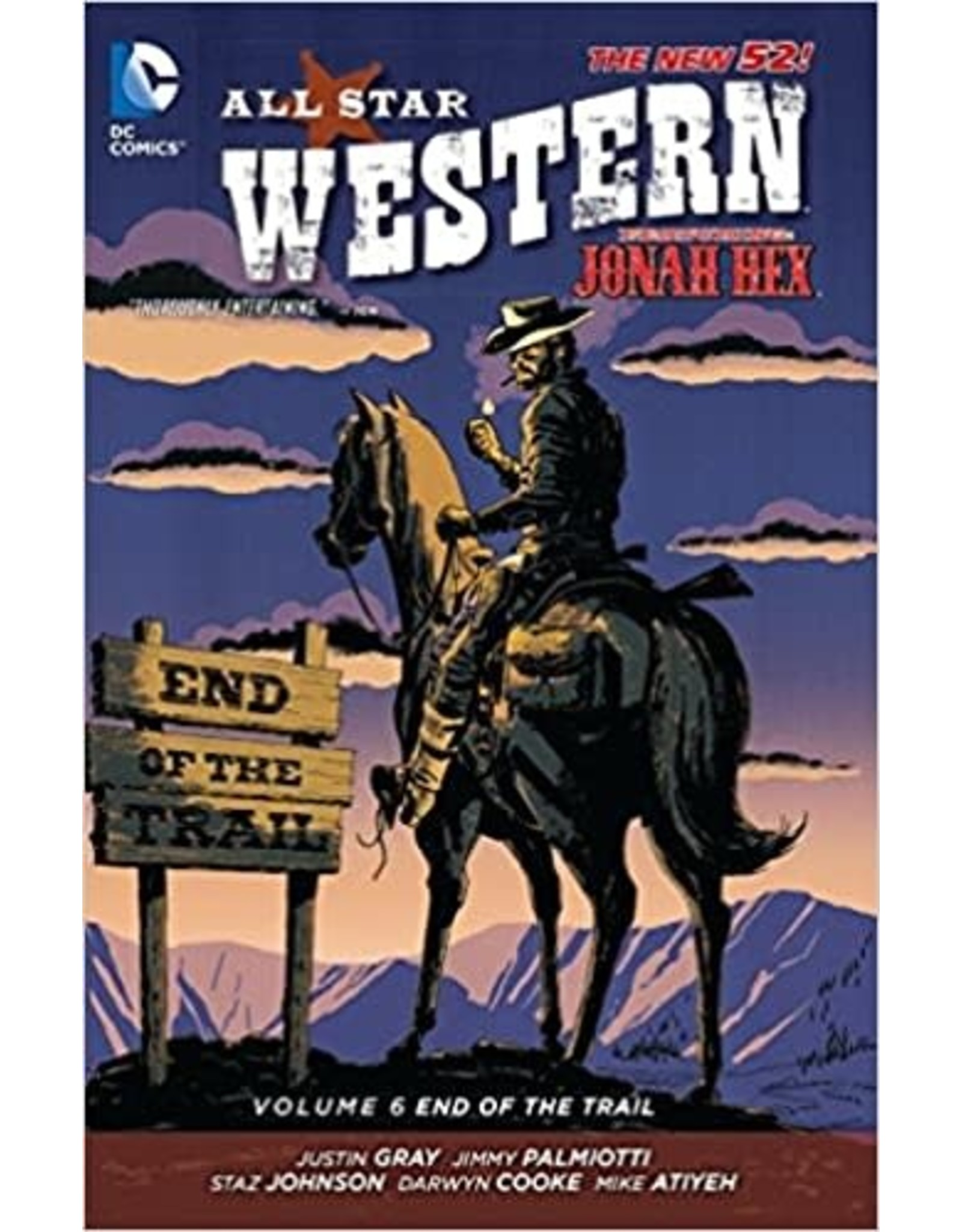 DC COMICS ALL STAR WESTERN TP VOL 06 END OF THE TRAIL