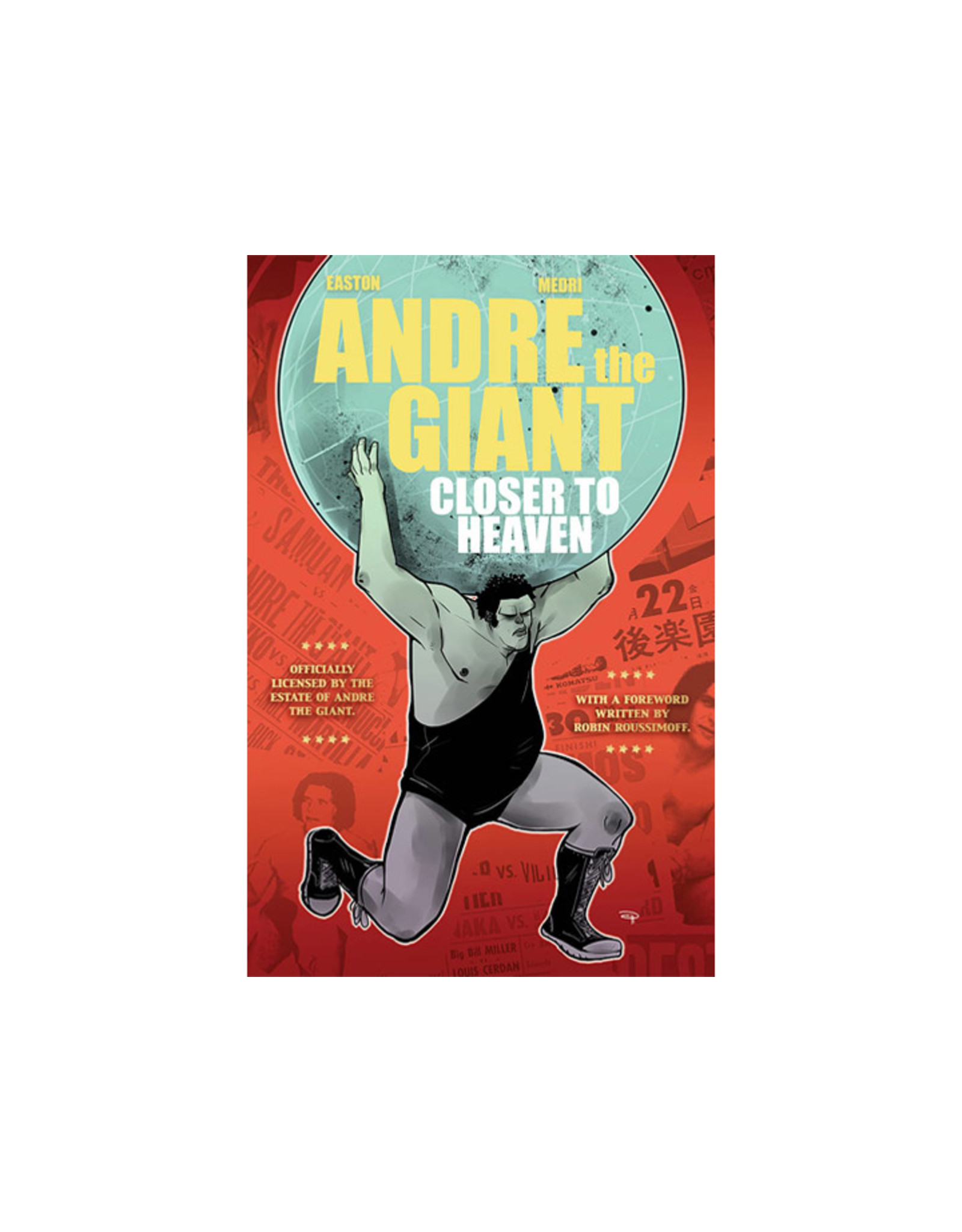 LION FORGE ANDRE THE GIANT GN CLOSER TO HEAVEN