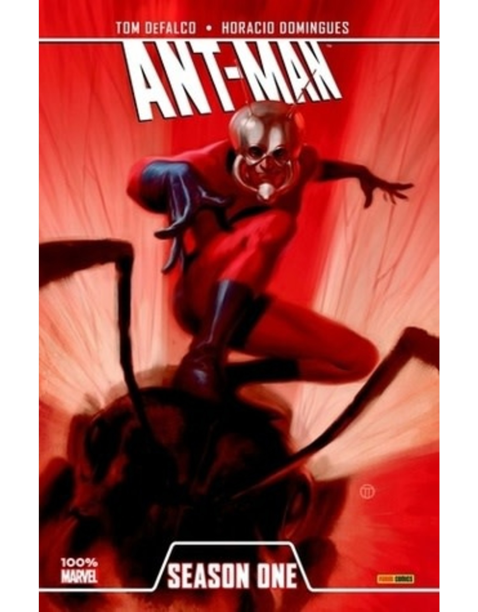 MARVEL COMICS ANT-MAN SEASON ONE PREM HC