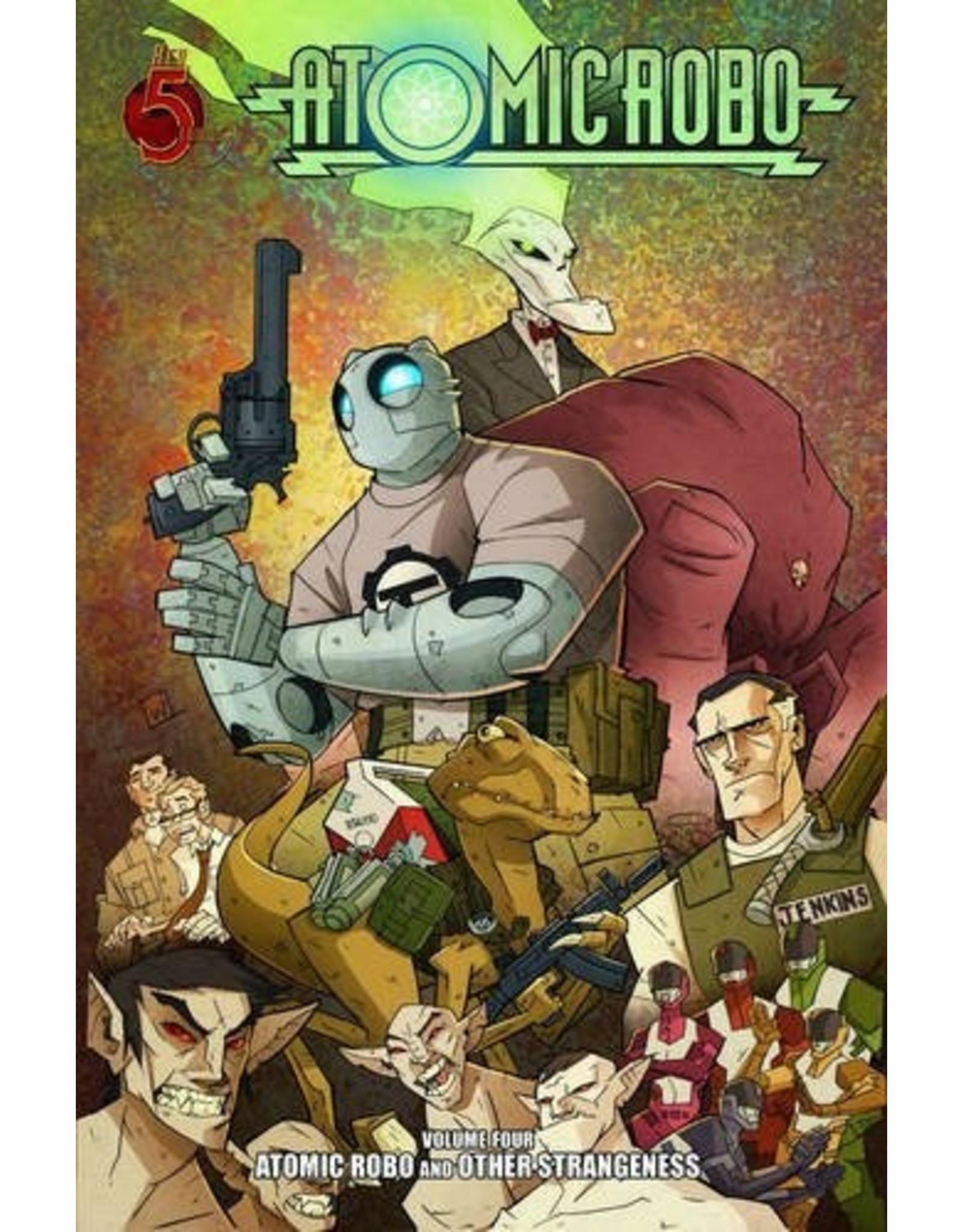 RED 5 COMICS ATOMIC ROBO TP VOL 04 OTHER STRANGENESS