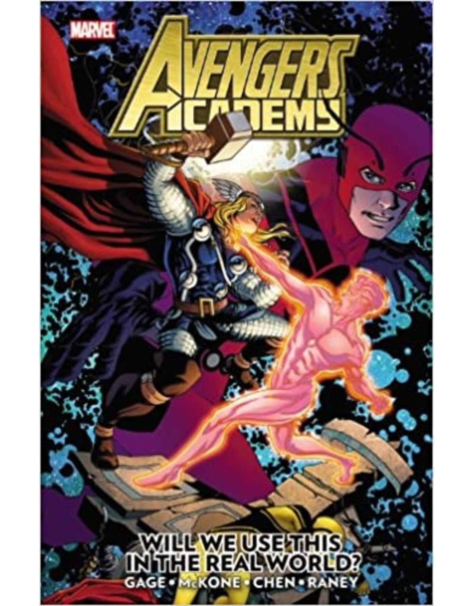 MARVEL COMICS AVENGERS ACADEMY TP VOL 02 REAL WORLD
