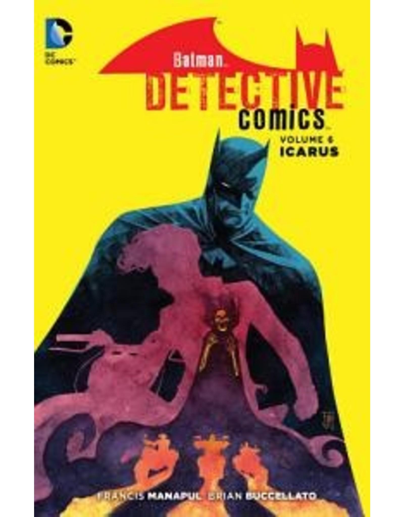 DC COMICS BATMAN DETECTIVE COMICS HC VOL 06 ICARUS