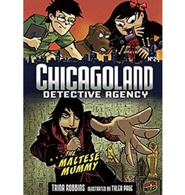 LERNER PUBLISHING GROUP CHICAGOLAND DETECTIVE AGENCY GN VOL 02 DRAINED BRAINS CAPER