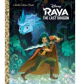 GOLDEN BOOKS DISNEY RAYA & LAST DRAGON LITTLE GOLDEN BOOK