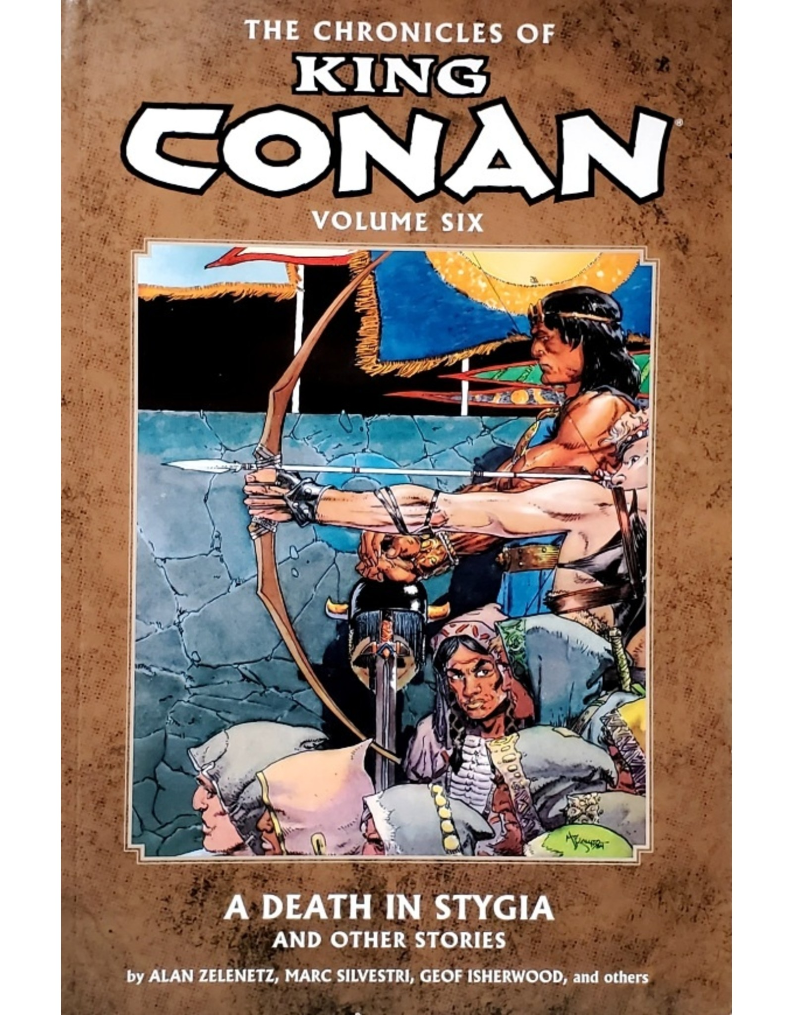 DARK HORSE COMICS CHRONICLES OF KING CONAN TP VOL 06 DEATH IN STYGIA