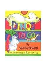 SIMON & SCHUSTER DINOS TO GO BOARD BOOK
