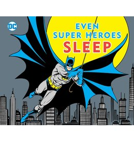 DOWNTOWN BOOKWORKS DC EVEN SUPER HEROES SLEEP BOARD BOOK