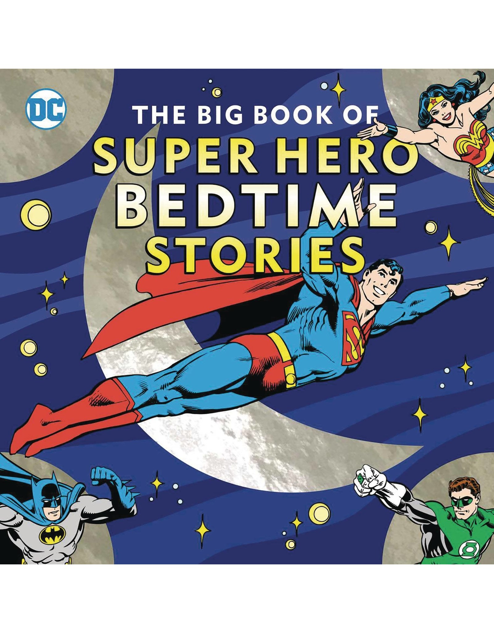 DOWNTOWN BOOKWORKS BIG BOOK OF SUPER HERO BEDTIME STORIES HC
