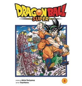 VIZ MEDIA LLC DRAGON BALL SUPER GN VOL 08