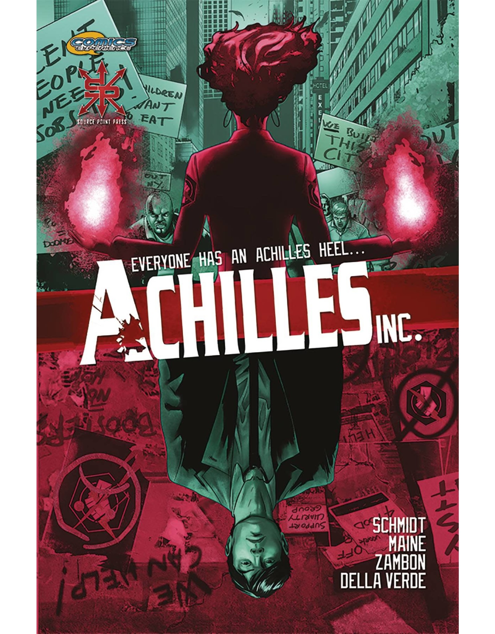 ACHILLES INC TP VOL 01