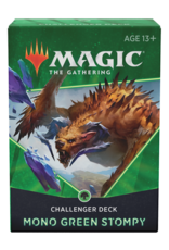 WIZARDS OF THE COAST MTG CHALLENGER DECK 2021 MONO GREEN STOMPY