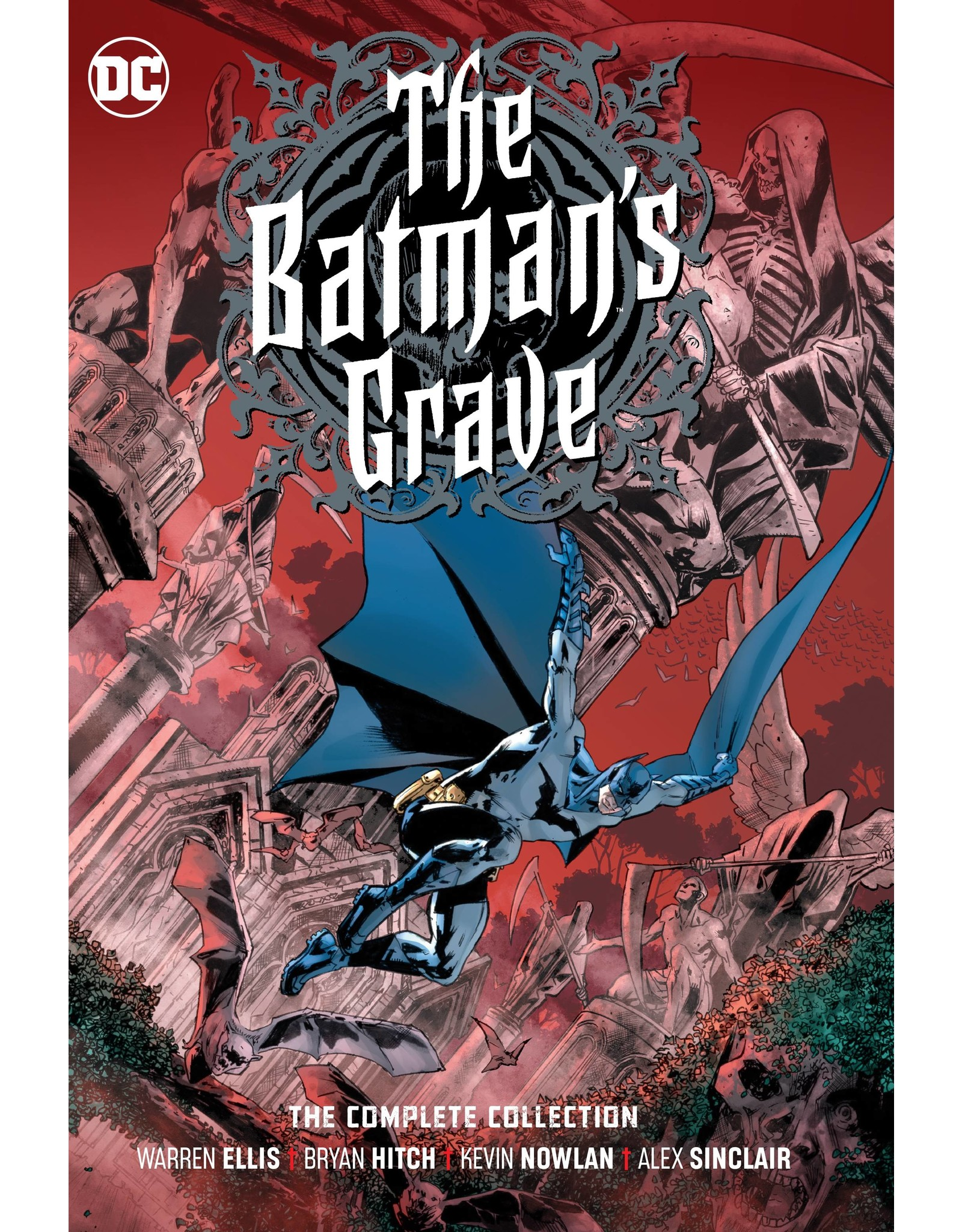 DC COMICS BATMANS GRAVE THE COMPLETE COLLECTION HC