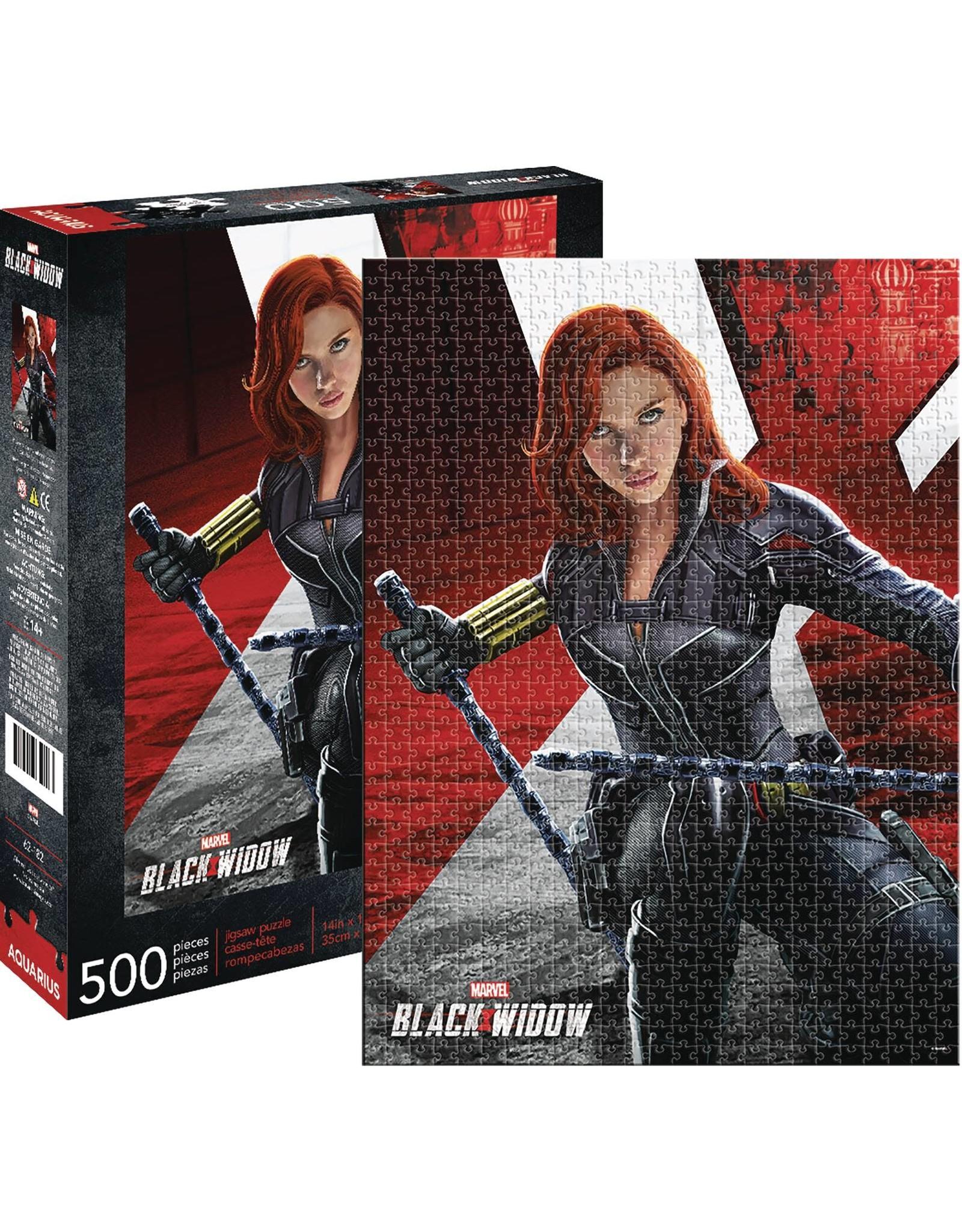 MARVEL BLACK WIDOW MOVIE 500PC PUZZLE