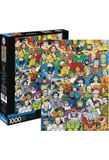 DC COMICS RETRO CAST 1000 PIECE PUZZLE