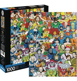 DC COMICS RETRO CAST 1000 PIECE PUZZLE