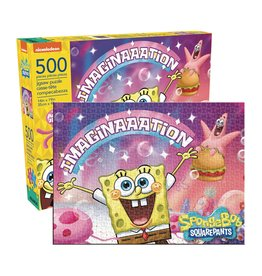 SPONGEBOB SQUARE PANTS IMAGINATION 500 PIECE PUZZLE