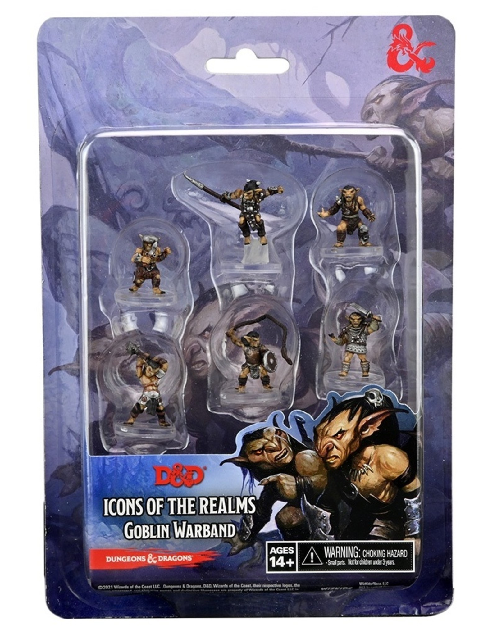 WIZKIDS D&D ICONS OF THE REALM GOBLIN WARBAND MINIATURES