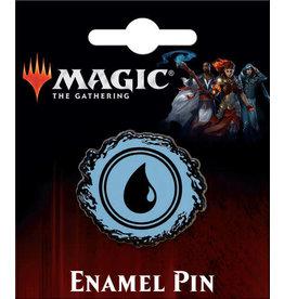 MAGIC THE GATHERING BLUE ISLAND MANA ENAMEL PIN