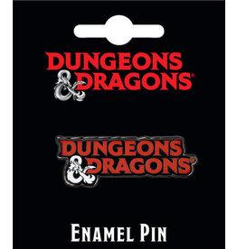 DUNGEONS & DRAGONS LOGO ENAMEL PIN