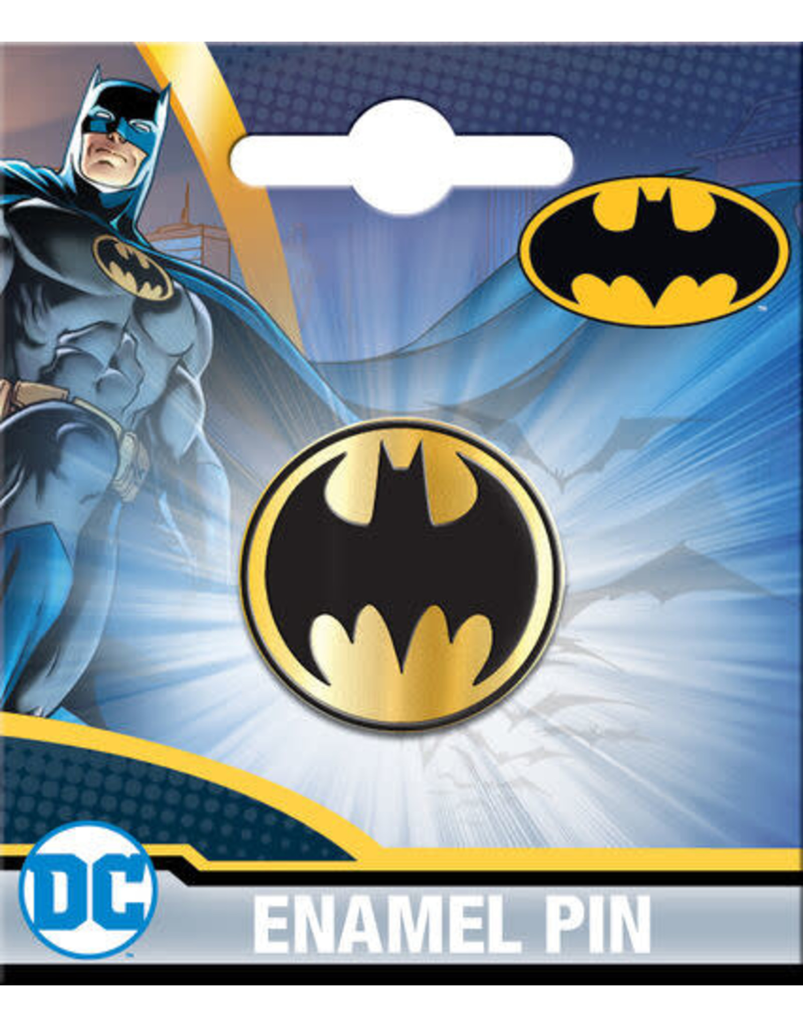 BATMAN SIGNAL ENAMEL PIN