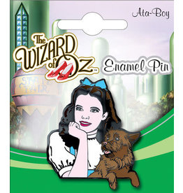 THE WIZARD OF OZ DOROTHY AND TOTO ENAMEL PIN