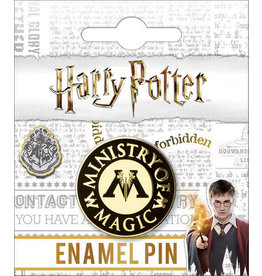 HARRY POTTER MINISTRY OF MAGIC ENAMEL PIN