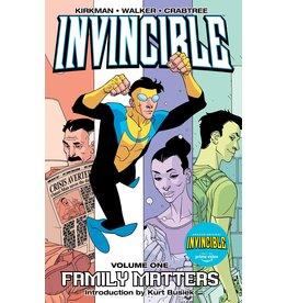 IMAGE COMICS INVINCIBLE TP VOL 01 FAMILY MATTERS
