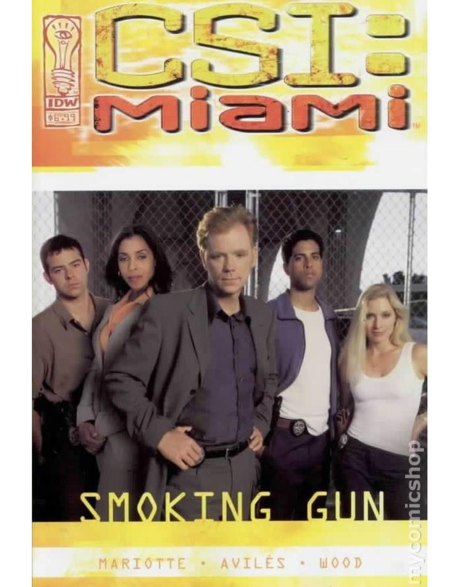 IDW PUBLISHING CSI MIAMI SMOKING GUN